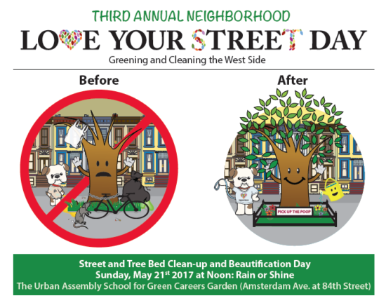 small Love Your Street Tree day