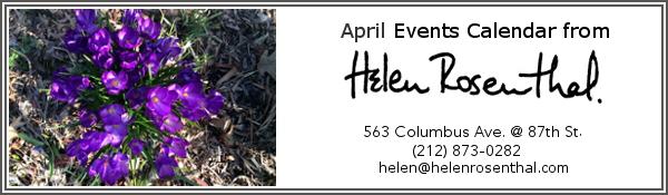EVENTS CALENDAR April 2016