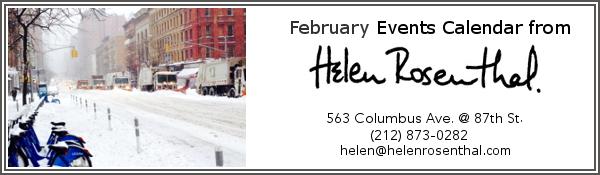 EVENTS CALENDAR February 2015
