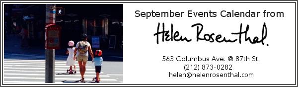 EVENTS CALENDAR September 2016