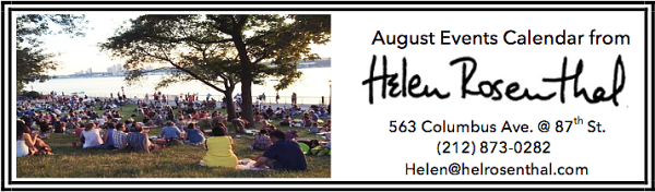 august events calendar header