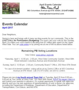 April Events Calendar (pic)