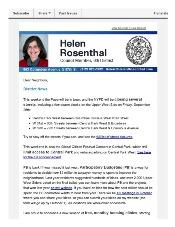 September News from Helen