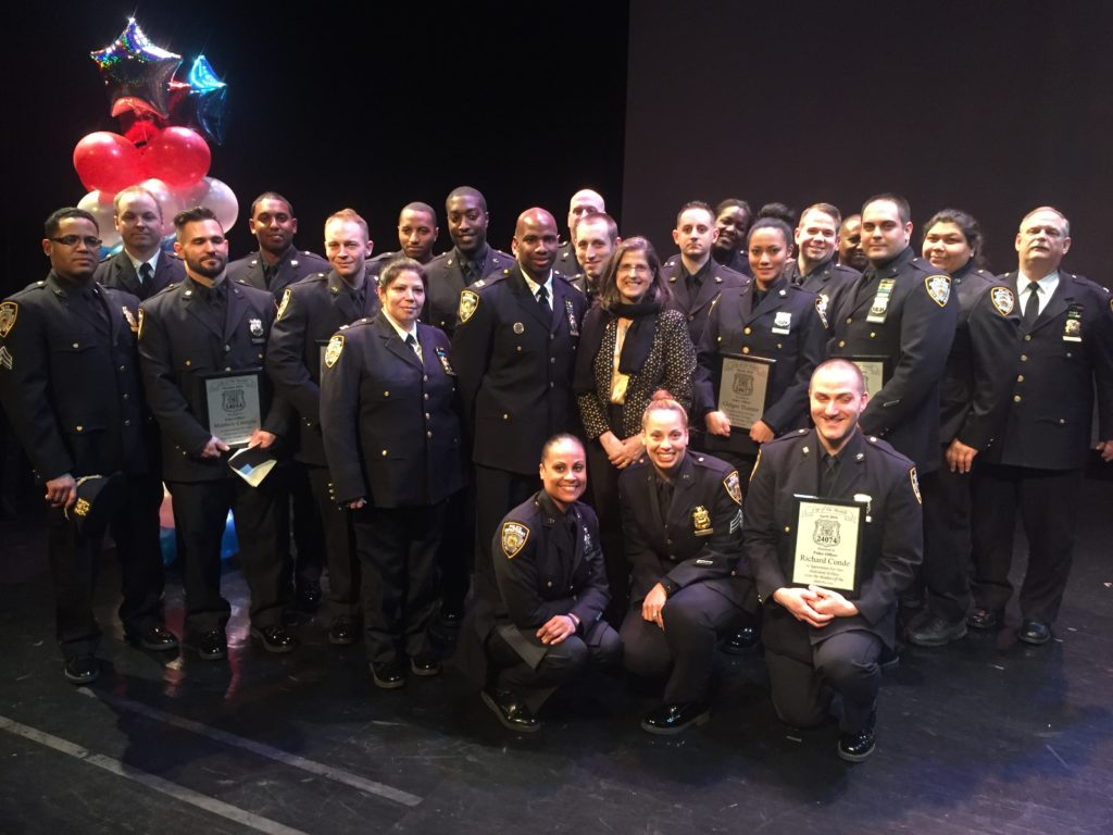 20th Pct 2016 Cops of the Month