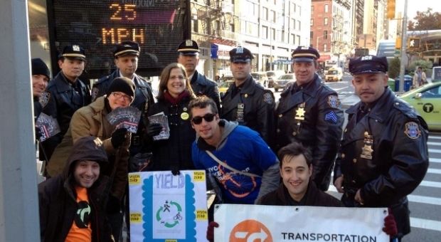 Helen, the NYPD Highway Patrol, and Transportation Alternatives