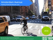Amsterdam Avenue Presentation to Community Board 7 February 2016