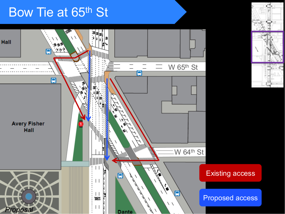 DOT Proposed Changes to Lincoln Square - December 9, 2014