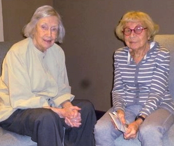 Two seniors at the Williams Residence facing displacement by the Salvation Army