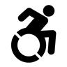 Wheeling Forward Symbol