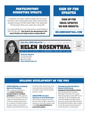 Fall 2014 Printed Newsletter