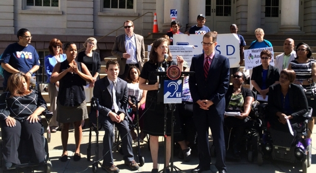 accessibility press conference