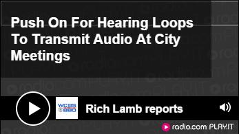 Hearing Loops - WCBS 880 radio story