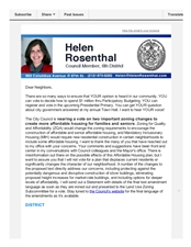 News from Helen, mid-March 2016