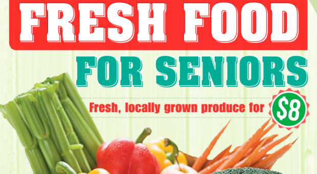 Fresh Food for Seniors Flyer