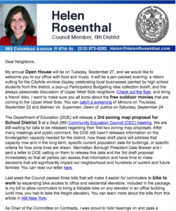 Reports & Newsletters – Helen Rosenthal